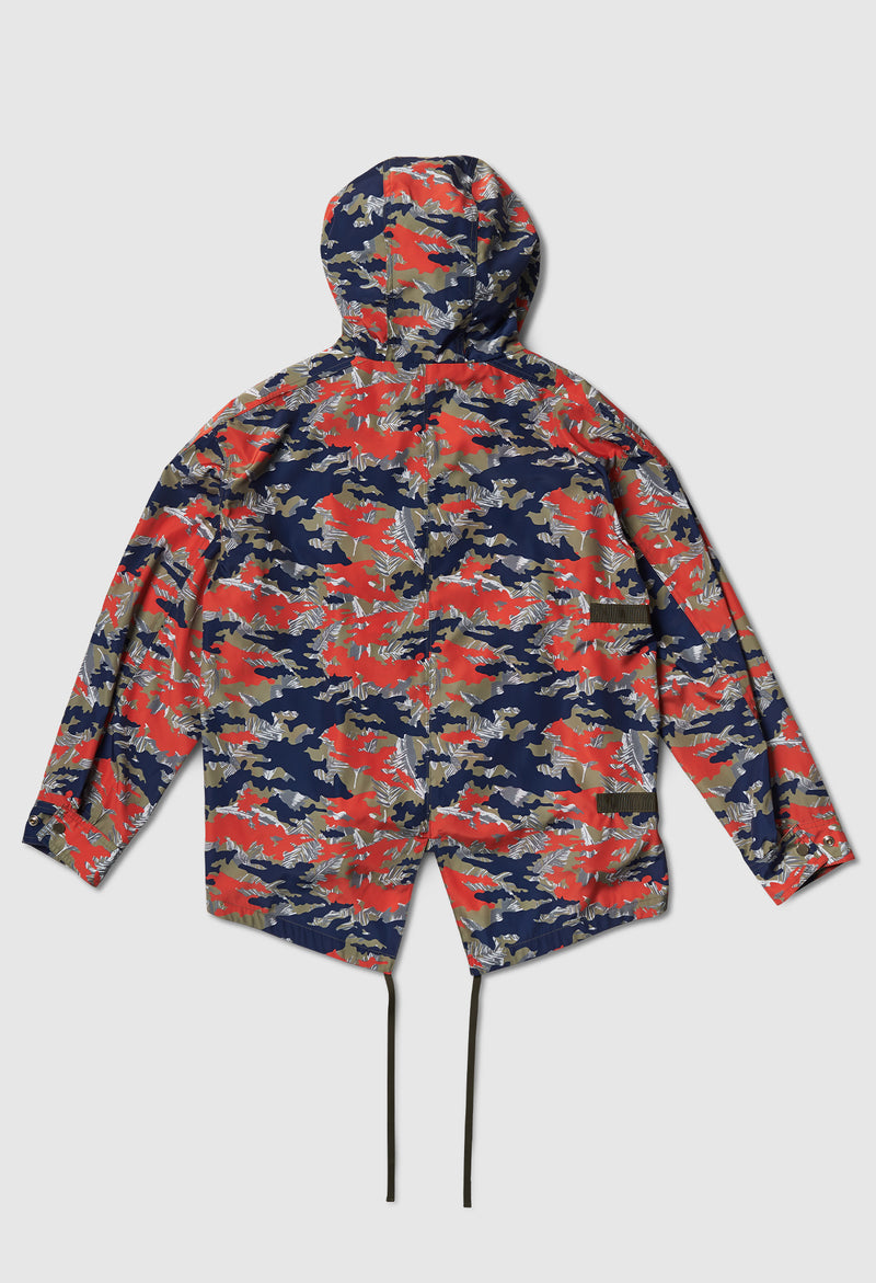 Anti-Apocalypse Strapped Anorak in Camo