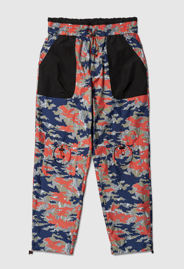 Anti-Apocalypse Track Pants in Orange Camo