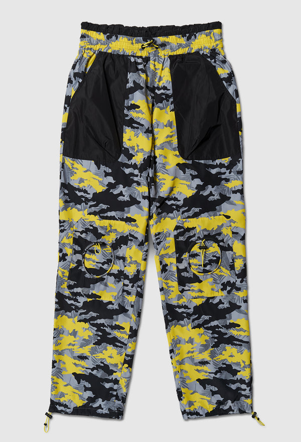 Anti-Apocalypse Track Pants in Yellow Camo