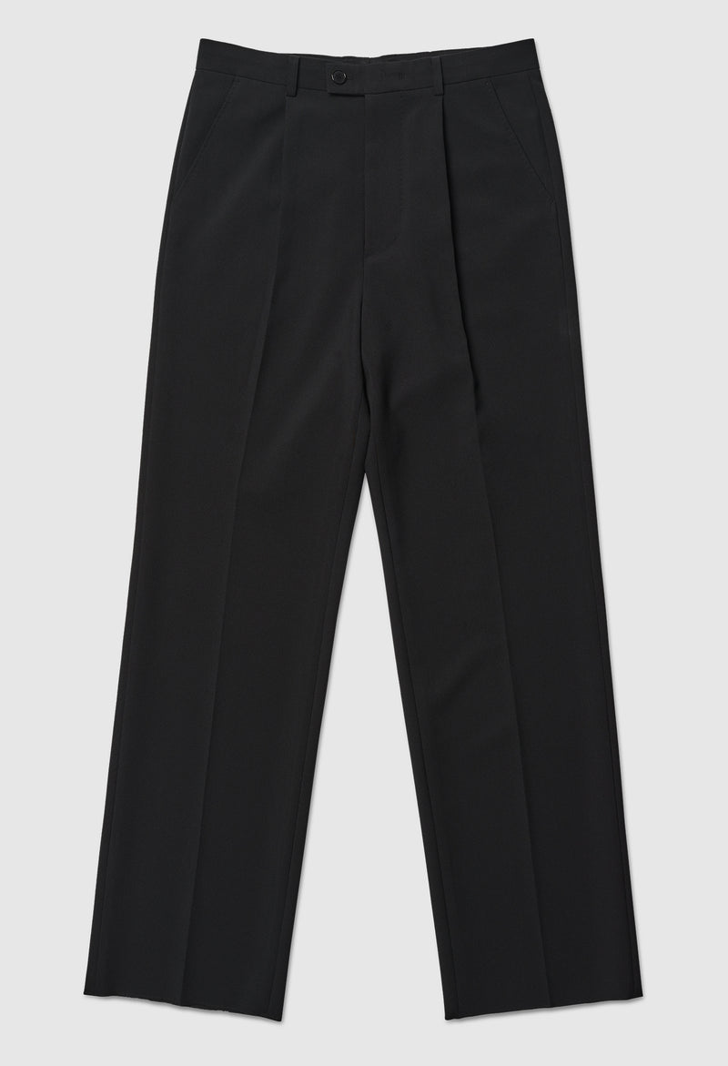 Black Relaxed Trousers