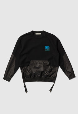 Two Way Black Pullover