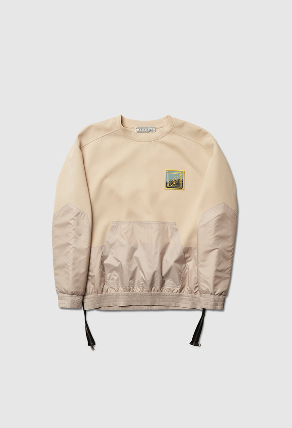Two Way Ivory Pullover