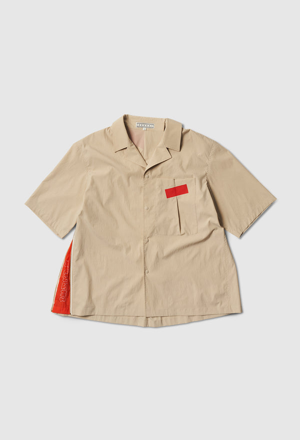 Art House Safari Shirt in Beige
