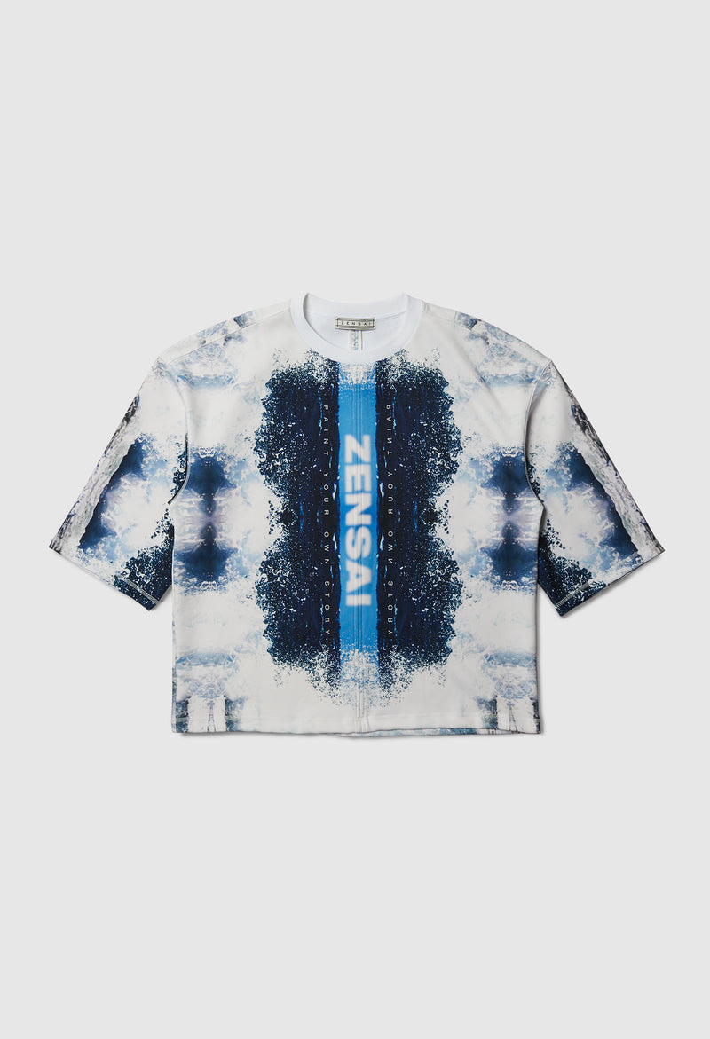 No Story Heavy Tee in Blue