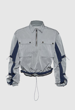 Tech Featured Windbreaker SVBLU