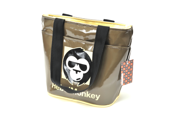 RebelMonkey CreamOnBrown Vintage Shopper