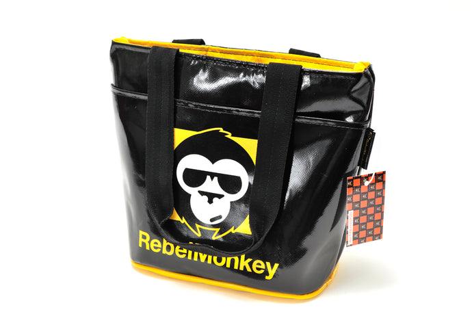 RebelMonkey YellowOnBlack Vintage Shopper