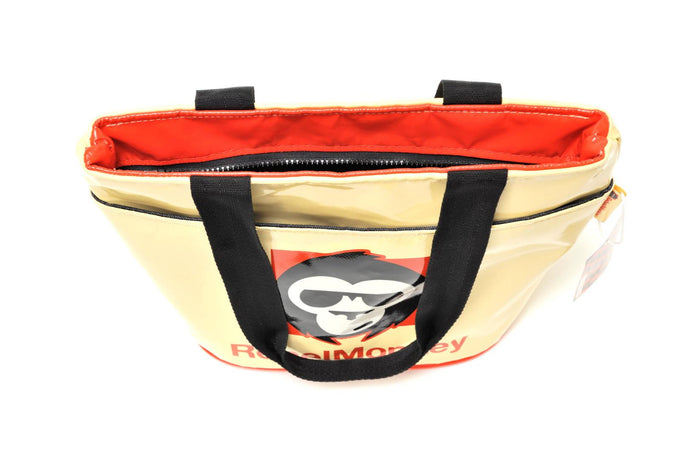 RebelMonkey OrangeOnCream Vintage Shopper