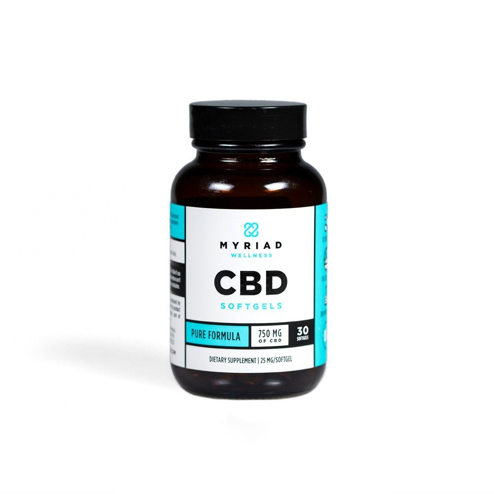 myriad cbd softgels