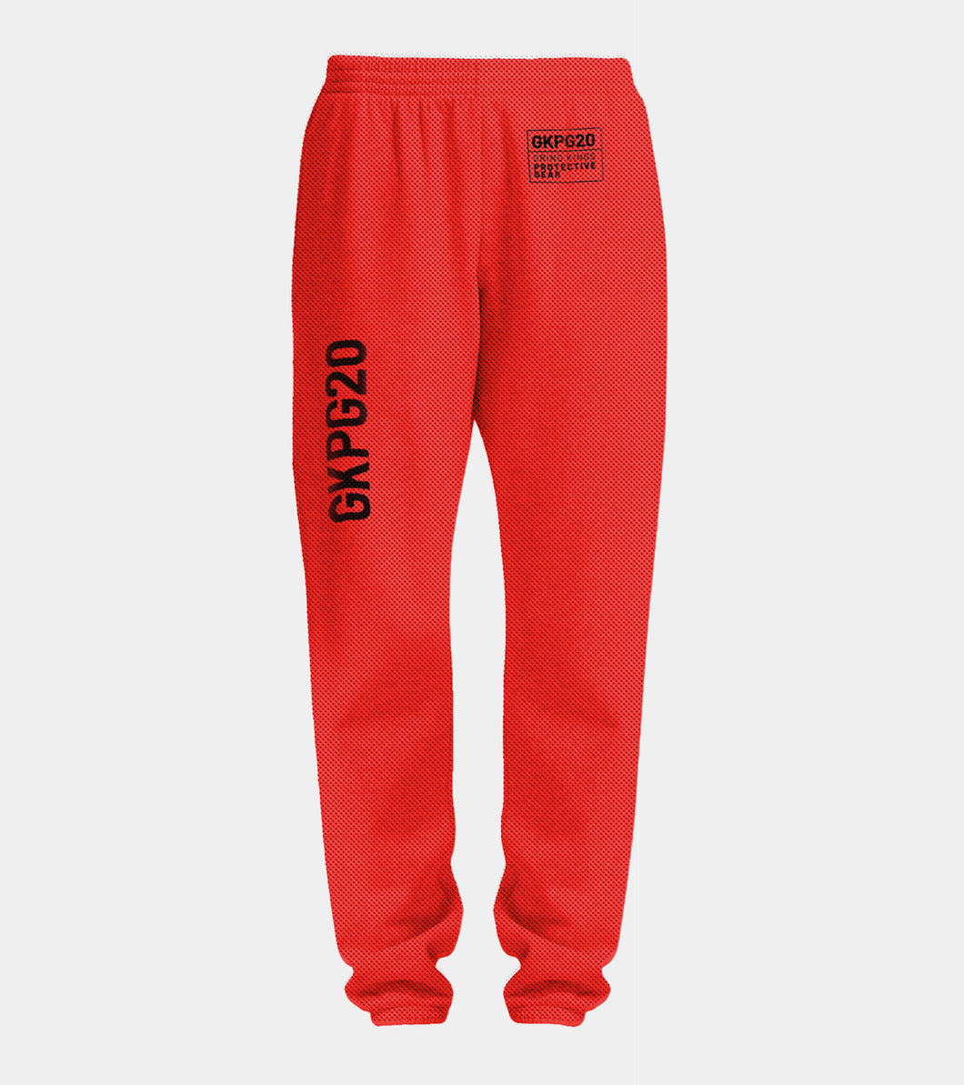 GKPG20 sweat pant - Red