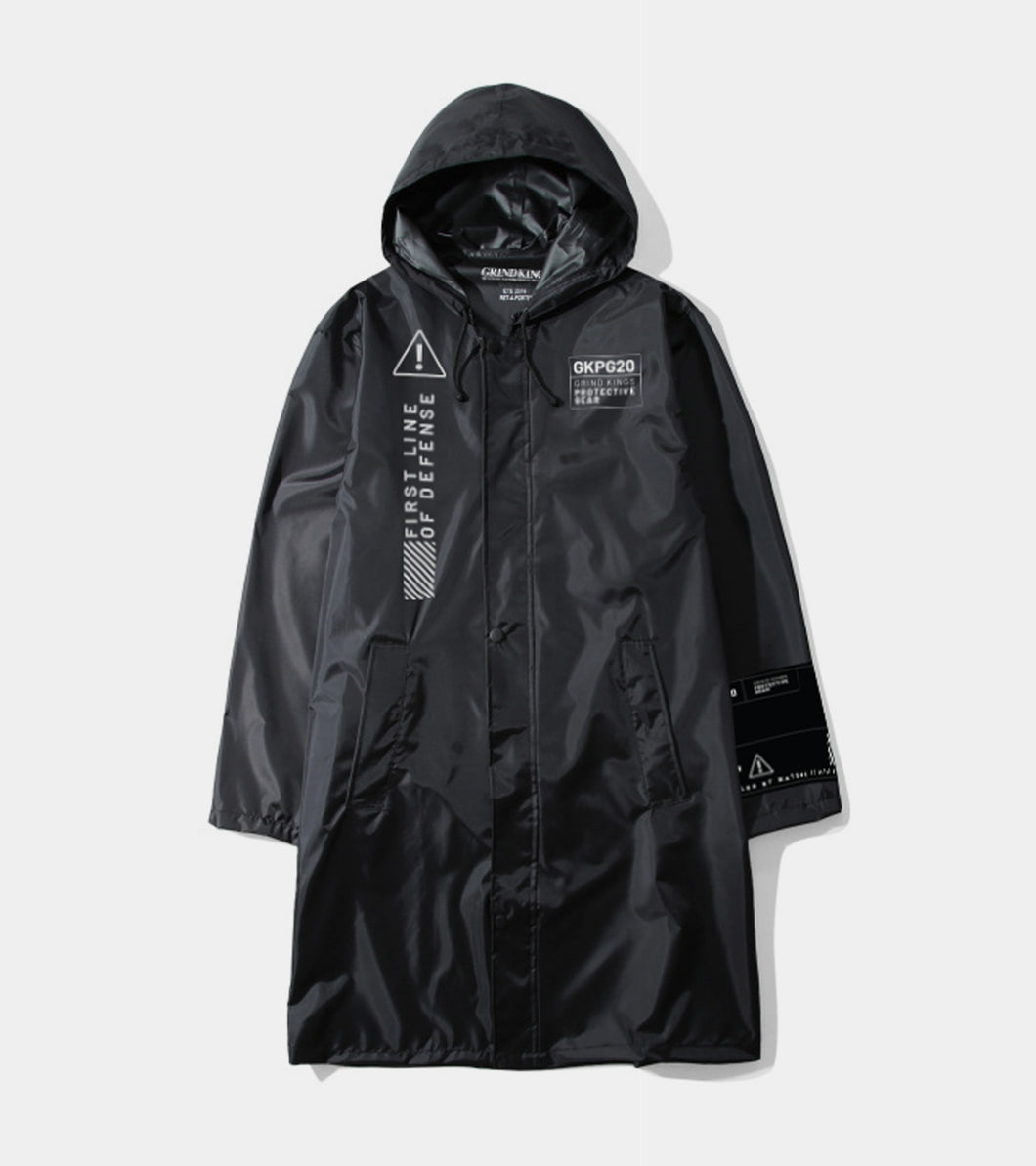 GKPG20 Logo PPE Trench - Black
