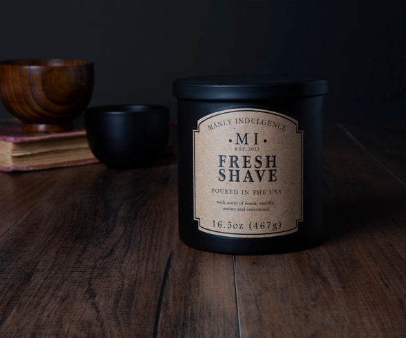 Fresh Shave - 16.5 oz, Scented Jar Candle