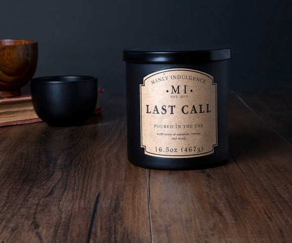 Last Call - 16.5 oz, Scented Jar Candle