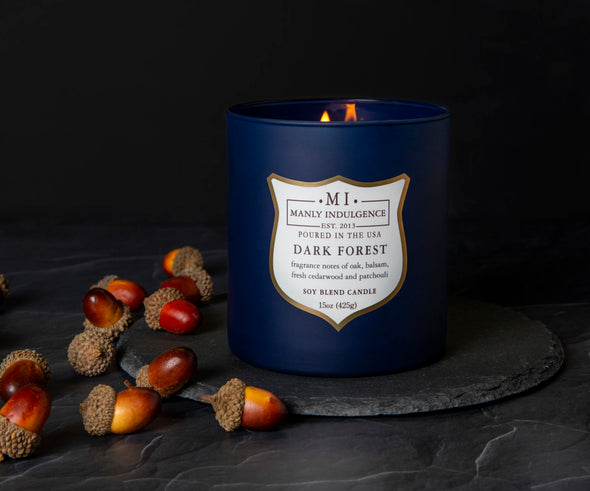 Dark Forest - 15 oz, Scented Jar Candle