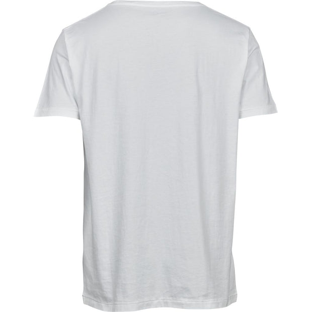 T-Shirt KnowledgeCotton Apparel Alder Loose Blanc - Echoppe Sauvage