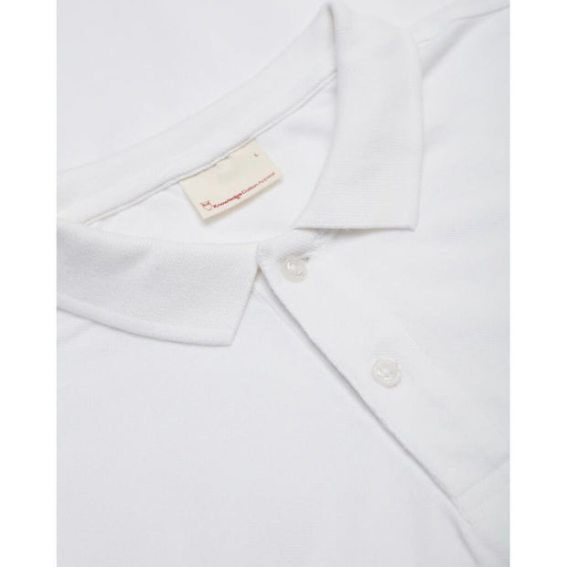 Polo-Coton-Bio-Homme-KnowledgeCotton-Apparel-Blanc-Zoom