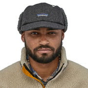 Casquette Patagonia - Recycled Wool Ear Flap Cap - Gris - Echoppe Sauvage