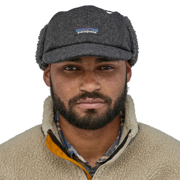 Casquette-Patagonia-Recycled-Wool-Ear-Flap-Cap-Gris-Style