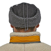 Casquette-Patagonia-Recycled-Wool-Ear-Flap-Cap-Gris-Style-Dos