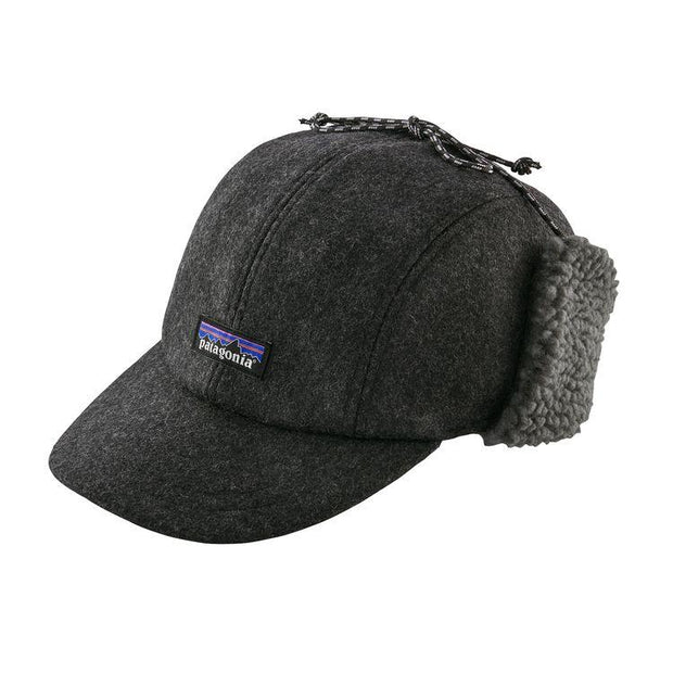 Casquette-Patagonia-Recycled-Wool-Ear-Flap-Cap-Gris