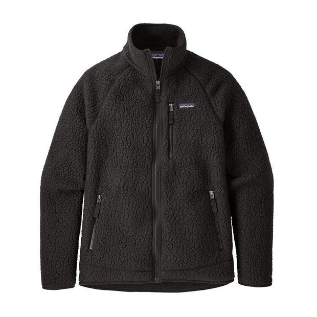 Retro Pile Jacket Black Patagonia
