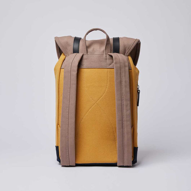 SANDQVIST STIG Multi Earth Brown / Honey Yellow / Navy - Echoppe Sauvage