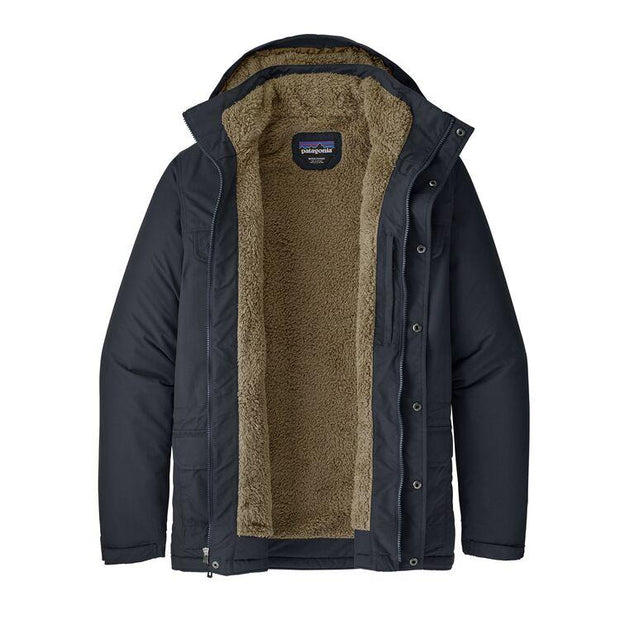 Parka Patagonia Isthmus Navy Intérieur