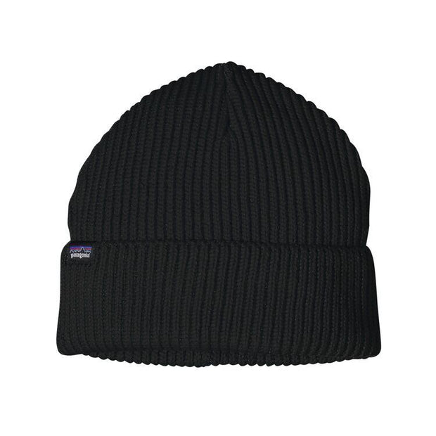 Bonnet Patagonia Fishermans Rolled Black - Echoppe Sauvage