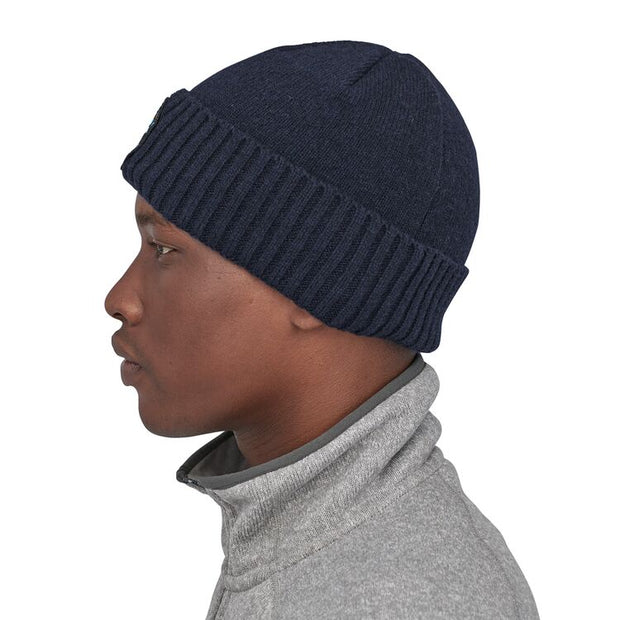 Bonnet Patagonia Brodeo Beanie Fitz Roy Scope : Navy Blue - Echoppe Sauvage