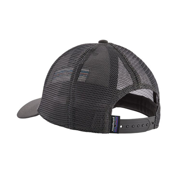 Casquette Patagonia P-6 Logo LoPro Trucker Hat Forge Grey - Echoppe Sauvage