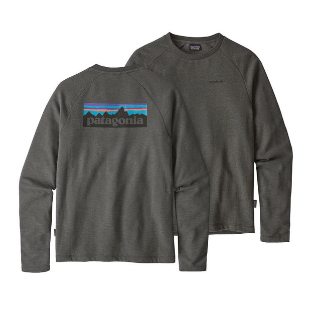 Sweat-Shirt Patagonia M's P-6 Logo LW Forge Grey - Echoppe Sauvage