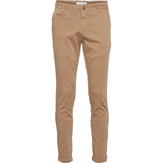 Chino Coton Bio KnowledgeCotton Apparel Joe Slim Tuffet - Echoppe Sauvage