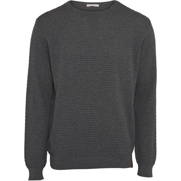 KnowledgeCotton Apparel Pull Maille Gris