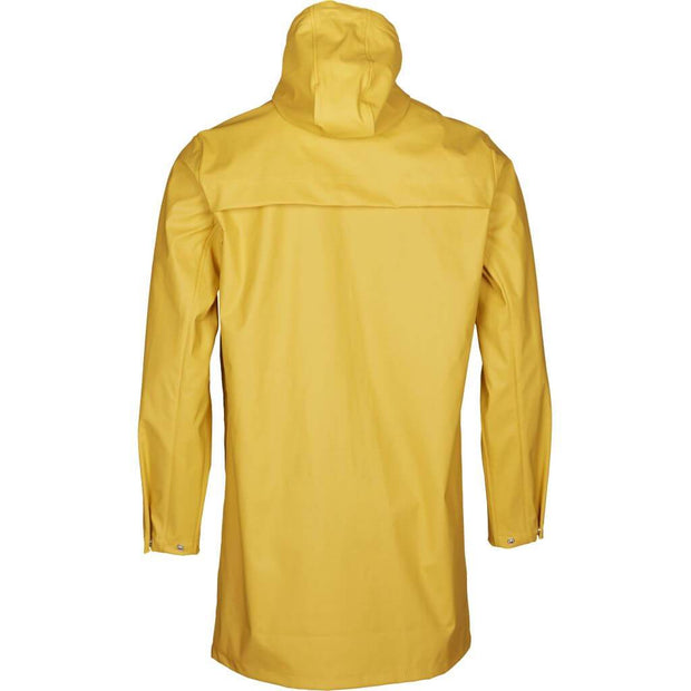 Long-Ciré-Homme-KnowledgeCotton-Apparel-Jaune-Dos
