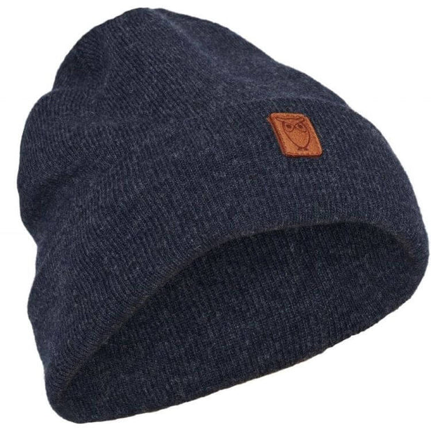 Bonnet Laine Bio KnowledgeCotton Apparel - Insigna Blue