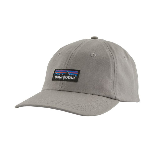 Casquette Patagonia P-6 Label Trad Cap - Drifter Grey - Echoppe Sauvage