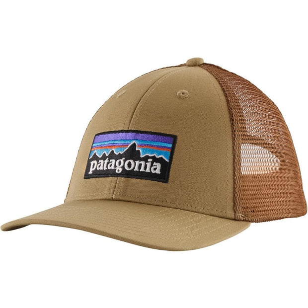 Casquette Patagonia P6 Logo LoPro Trucker Hat - Classic Tan - Echoppe Sauvage