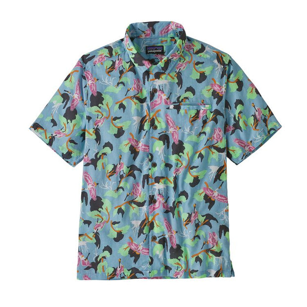 Chemise Patagonia M's LW A/C Shirt - Spoonbills Big Sky Blue - Echoppe Sauvage