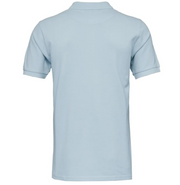 Polo KnowledgeCotton Apparel ROWAN Basic Polo - Sky Way Melange - Echoppe Sauvage