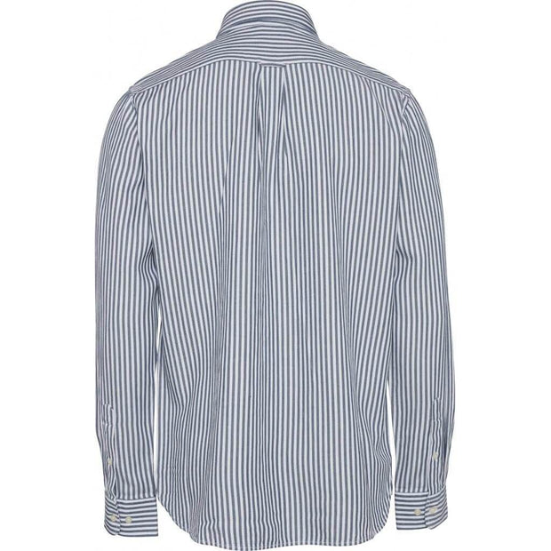 knowledgecottonapparel-chemise-twill-rayures-bleu-dos