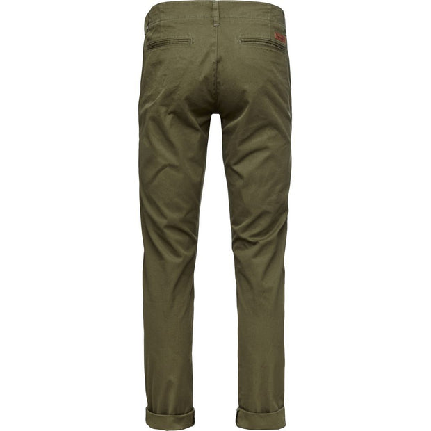 KnowledgeCotton-Apparel-Chino-Vert-Dos