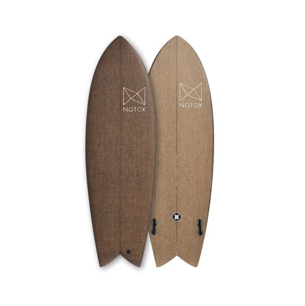 NOTOX Surfboards - Retro Fish Custom - Echoppe Sauvage