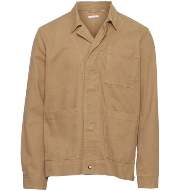 Veste Sur-chemise KnowledgeCotton Apparel PINE Heavy Twill Overshirt - Tuffet - Echoppe Sauvage