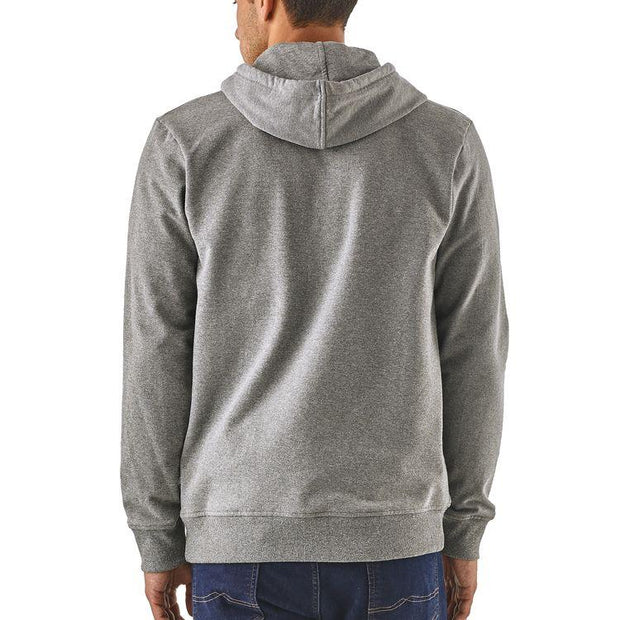 Sweat-Shirt-Patagonia-Capuche-Gris-Dos