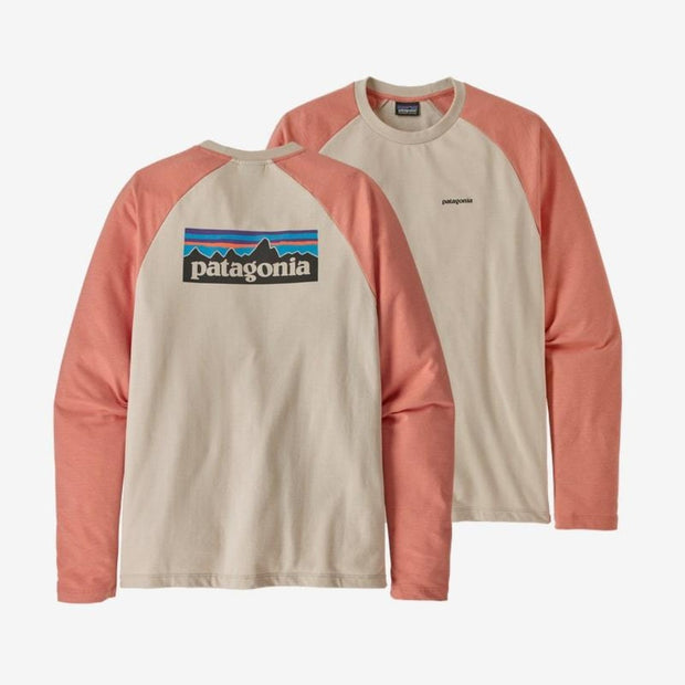Sweatshirt Patagonia M's P-6 Logo LW Crew - Feather Pumice - Echoppe Sauvage