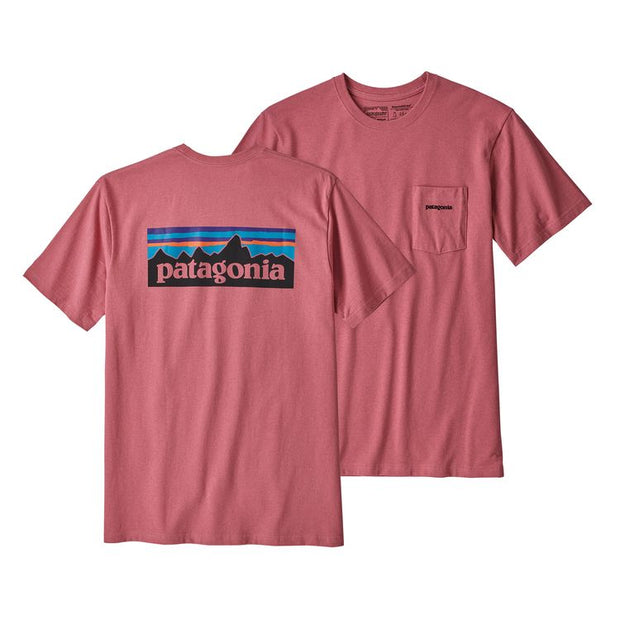 T-Shirt Patagonia Pocket Rose
