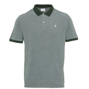 Polo KnowledgeCotton Apparel ROWAN Yarndyed Owl Polo - Pineneedle - Echoppe Sauvage