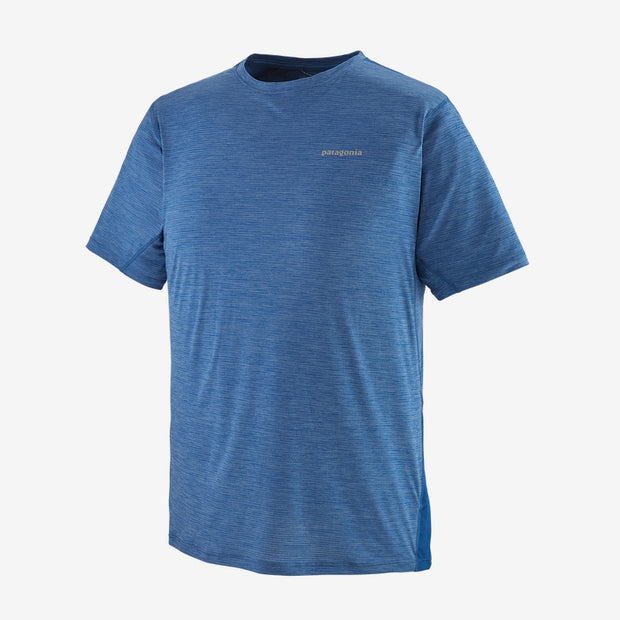 T-shirt Patagonia M's Airchaser Light Superior Blue X-Dye - Echoppe Sauvage