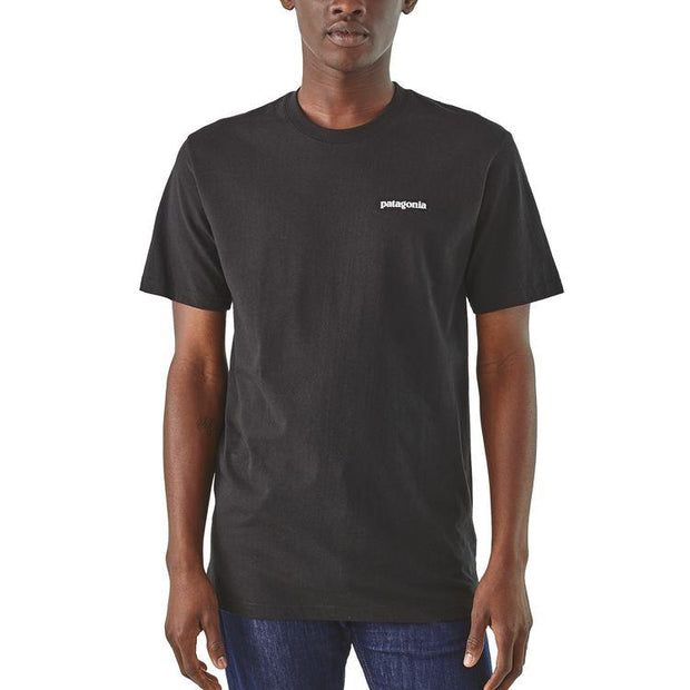 Tshirt-Patagonia-Recycle-Noir-Style