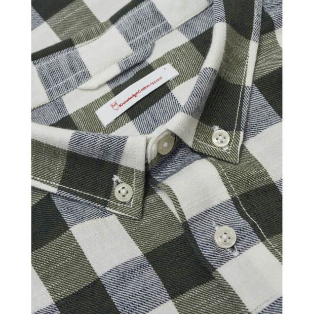 knowledgecottonapparel-long-sleeve-checked-slub-shirt-col